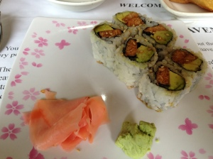 Salmon Avocado Sushi Roll